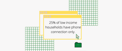 Low Income and Phone Connection