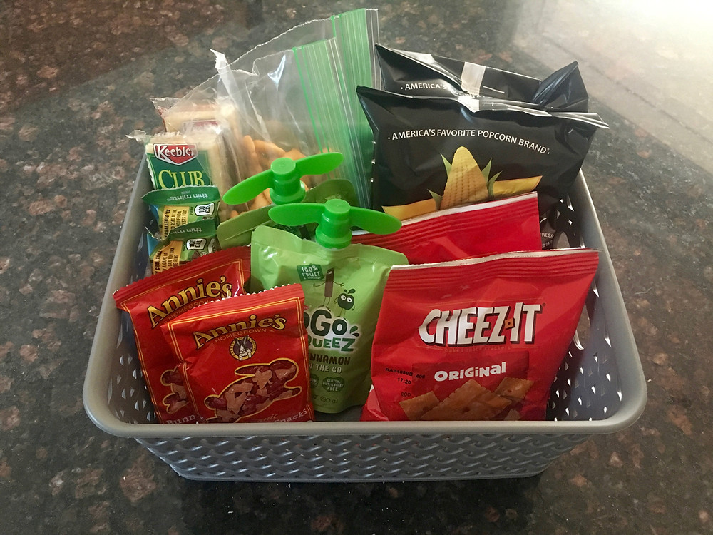 kids lunches, make packing lunches easier, organized lunch, meal prep, self-sufficient kids, professional organizing for kids