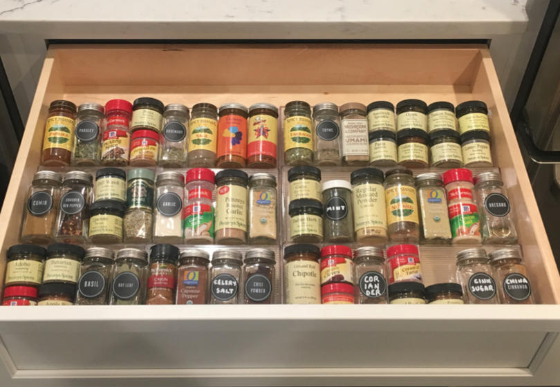 Spice drawer perfection