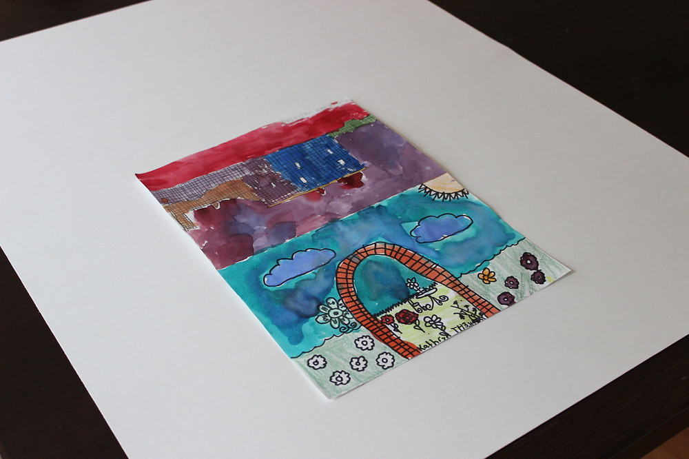 photographing art, professional organizing, children's art