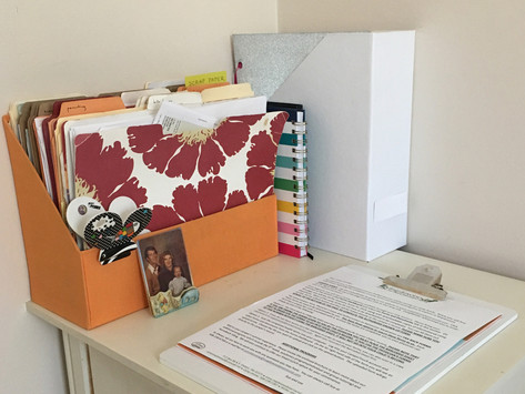 How to Manage Paper Clutter