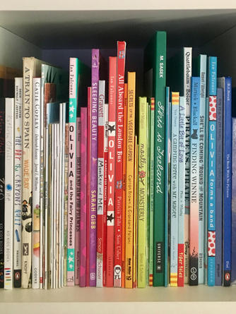 ROYGBIV bookshelf