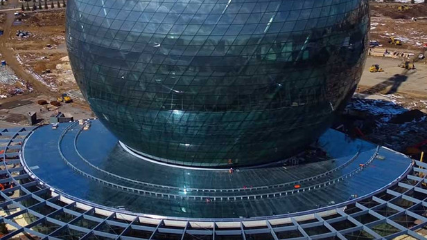 Sphere Stainless steel cladding code