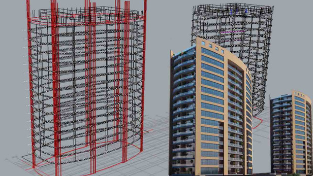 Atakoy Towers support points