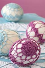 Embroidered egg
