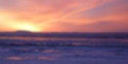 Soleil rosé sur l'Isle-aux-Grues