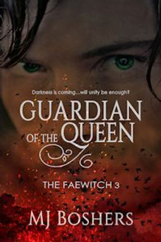 The Faewitch Series Book 3/Guardian of the Queen/ MJ Boshers/teen/fantasy/paranormal/books/best book series