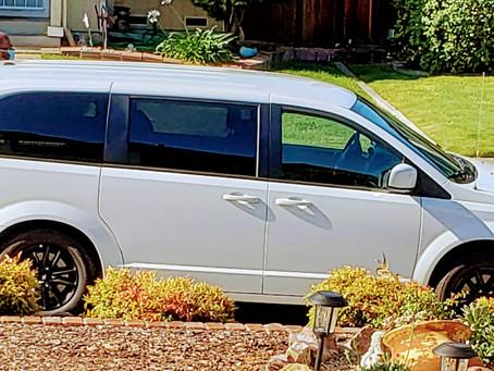 Cross country van delivery to online buyer