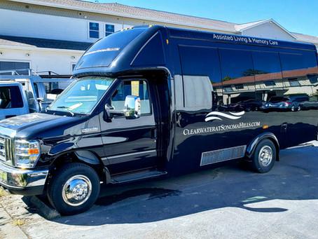 Shuttle Bus for Memory Care Center
