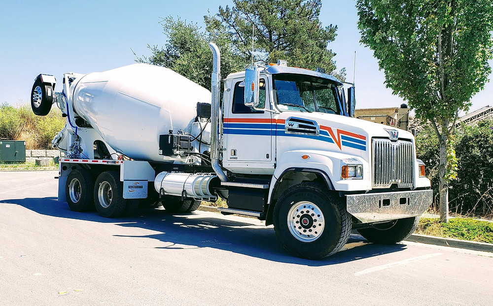 2020 Western Star 4700 SF Cement Mixer Truck