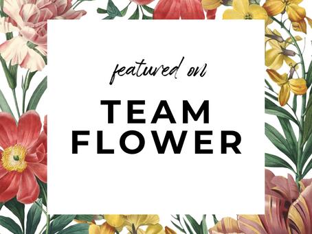 Team Flower!