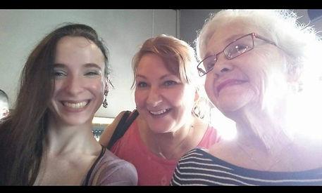 Me, Mum, and Grandma Jeanne
