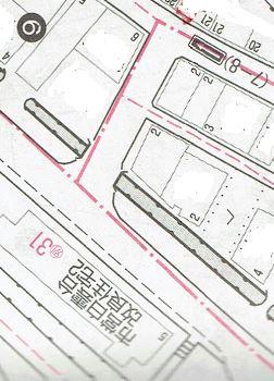 上田中地図