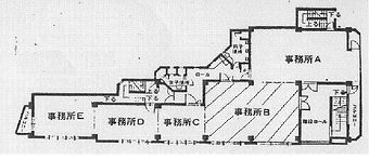 下関市観音崎町貸事務所