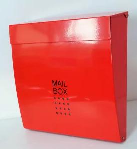 大型メールボックス壁掛け鍵付きマグネット付き
