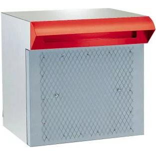 ハッピー金属 ステンレスポスト ファミール673-R(差入口・受箱一体型タイプ)