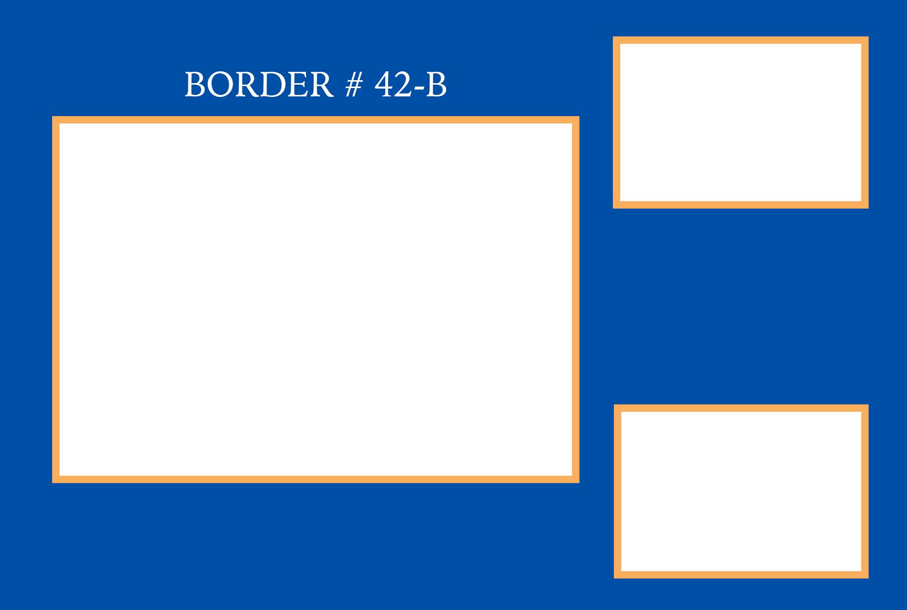 BORDER#42B