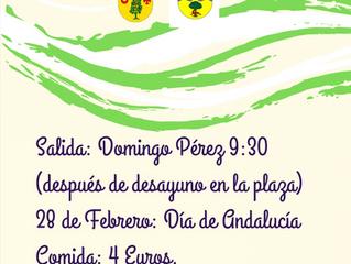 Día de Andalucía - Ruta de Senderismo