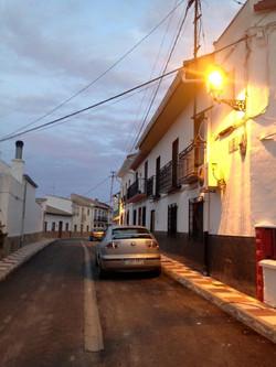 Alumbrado nuevo Calle Molinillo