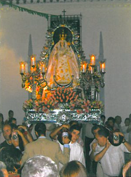 virgen del rosario domingo perez de granada