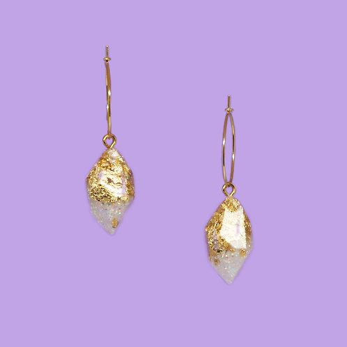 Small White Glitter Crystals