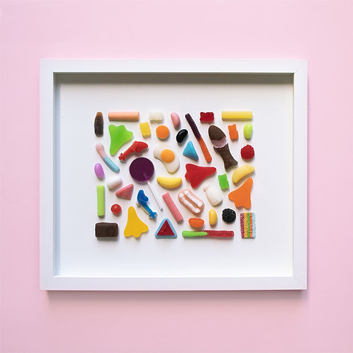 Lolly Scramble Wall Art