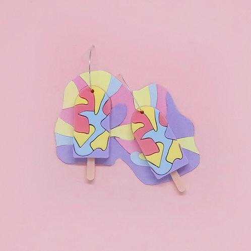 Rainbow Paddle Pops