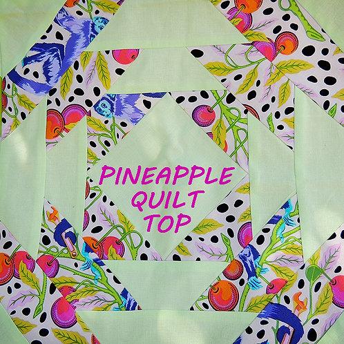 Pineapple Quilt Top - KW