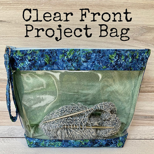 Clear Front Project Bag