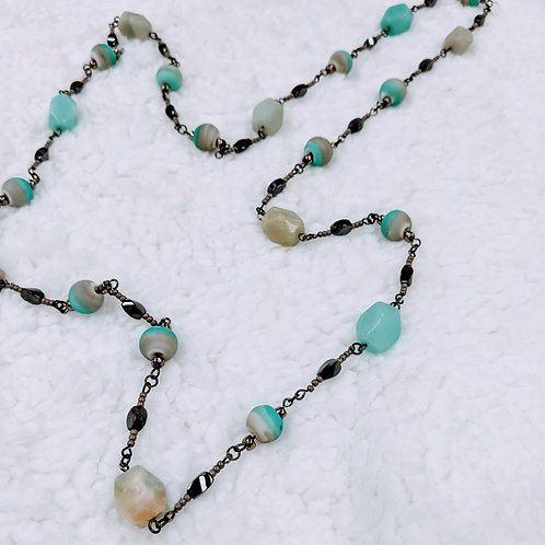 Fancy Link Necklace 06