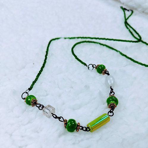Layering Strung Necklace 03