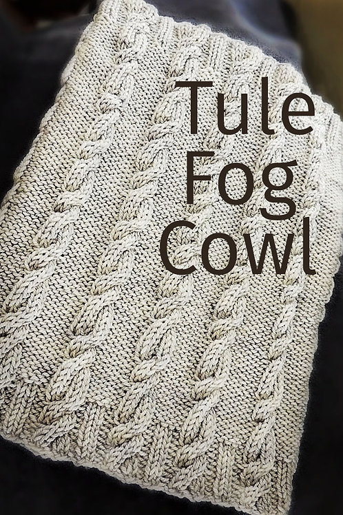 Intro to Cables: Tule Fog Cowl-Independent Study