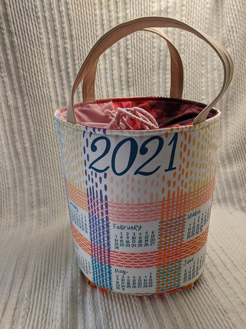Dishcloth Calendar Bag 4
