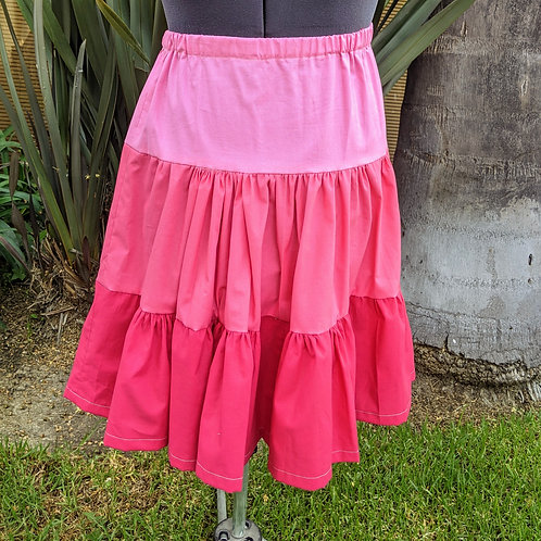 Tiered Twirling Skirt - Independent Study