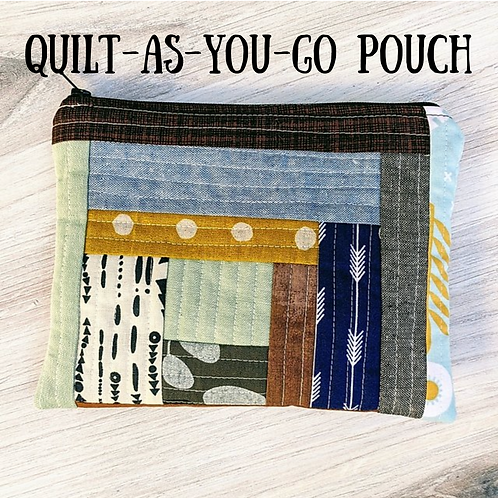 Quilt As You Go Pouch Independent Study