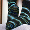 Anacapa Bottom Flappers Toe Up 2-at-a-Time Sock Pdf Pattern