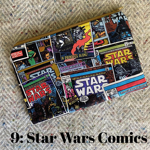 Zippered Pouch: Star Wars Comics