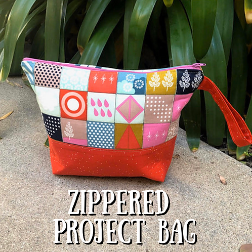 Zippered Project Bag Independent Study