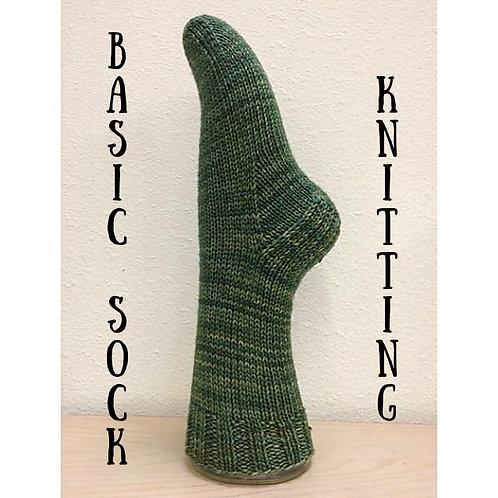 Basic Sock Knitting