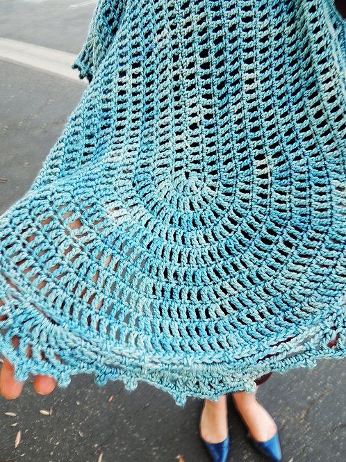 Aonani Crocheted Shawl PDF Pattern