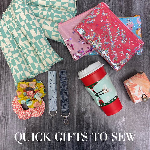 Quick Gifts to Sew Independent Study