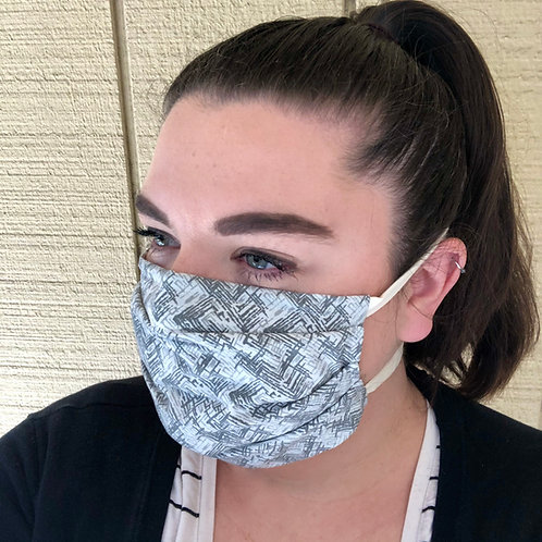 Fabric Face Mask (with Ties)
