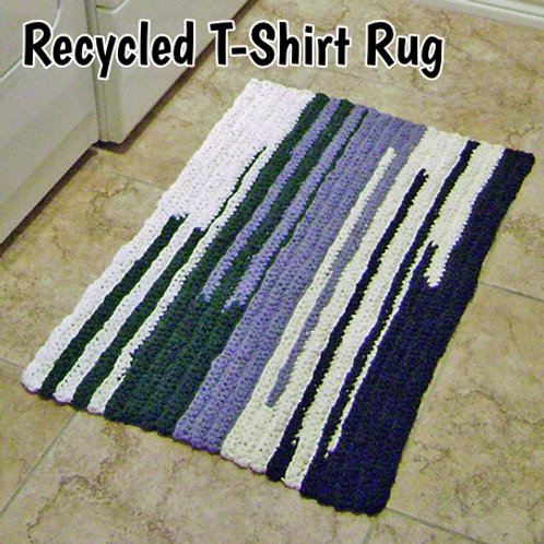 Recycled T-Shirt Rug