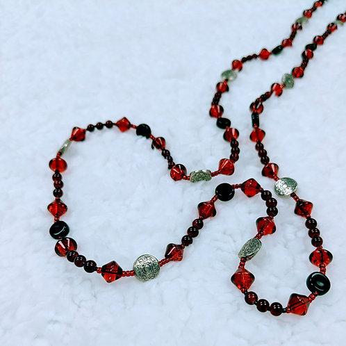 Fancy Strung Necklace 12