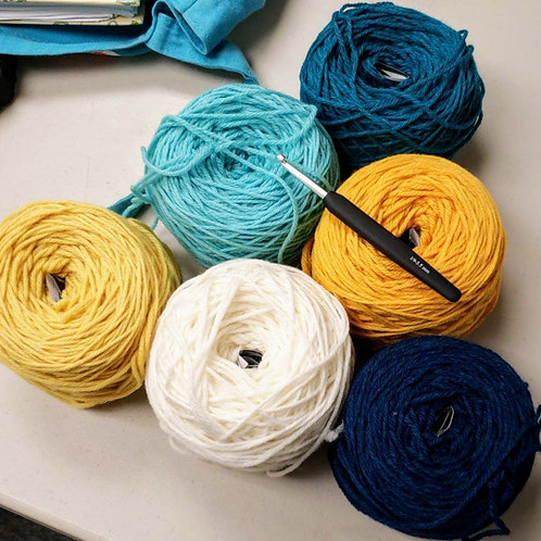 Independent Study: Beginning Crochet with Anne