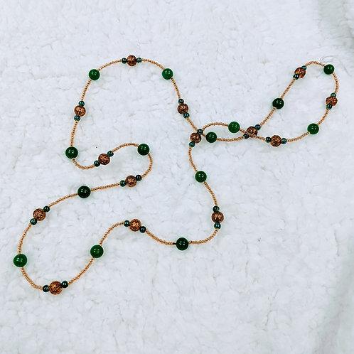 Fancy Strung Necklace 07