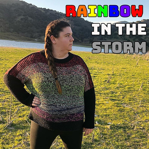 Rainbow in the Storm Sweater Class