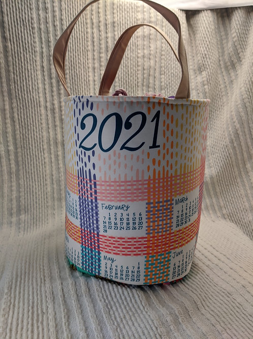 Dishcloth Calendar Bag 3