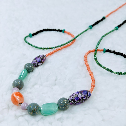 Fancy Strung Necklace 10