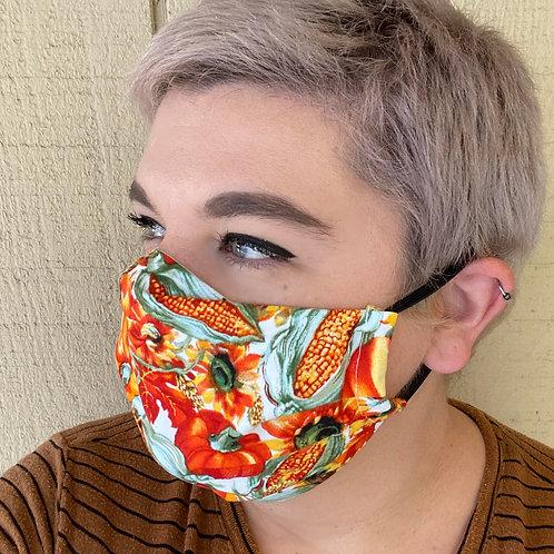 Fabric Mask - Harvest Tumble